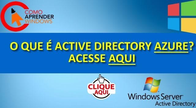 O que é Active Directory Azure?