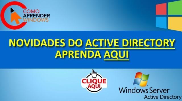 Novidades do Active Directory