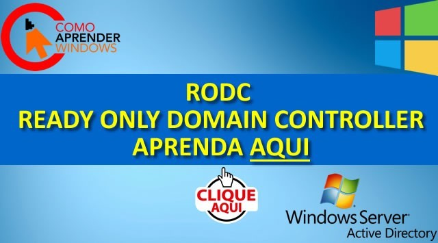 RODC no Active Directory Como Instalar!