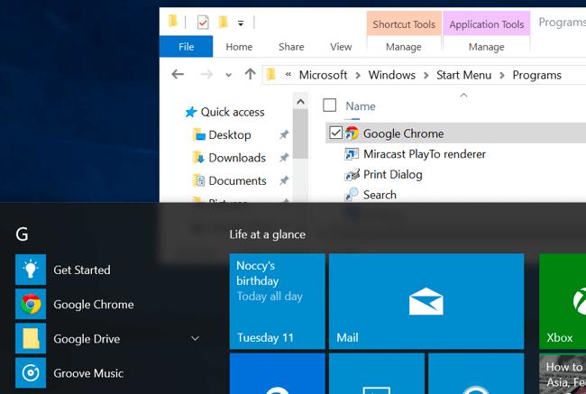 atalhos no windows 10