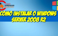 Como Instalar o Windows Server 2008 R2