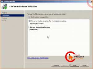 desktop experience no windows server 2008 r2