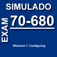 Certificação Microsoft Exame 70-680 Windows 7 Configuring