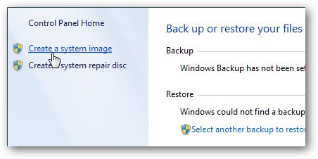 backup de imagem