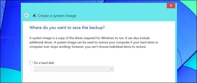 backup do sistema