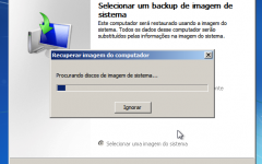 Como restaurar backups de imagem do sistema no Windows 7, 8 e 10