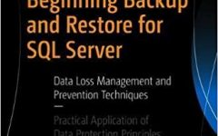 Beginning Backup and Restore for SQL Server