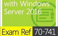 Exame Ref 70-741 Rede com o Windows Server 2016