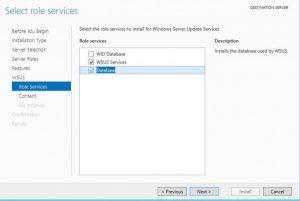 WSUS no Windows Server