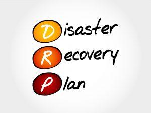 plano de recuperacao de desastre