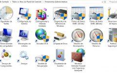 Ferramentas Administrativas do Windows